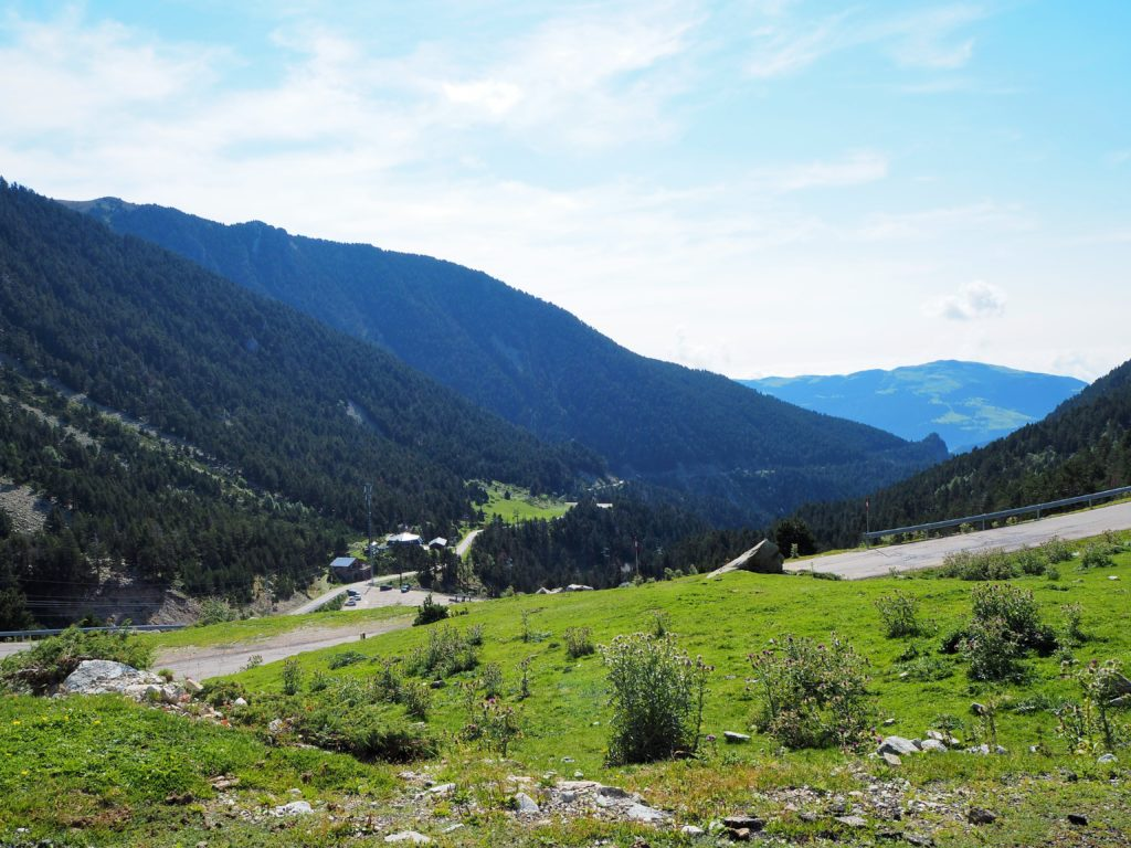 Views of the Pyrenees from Vallter 2000
