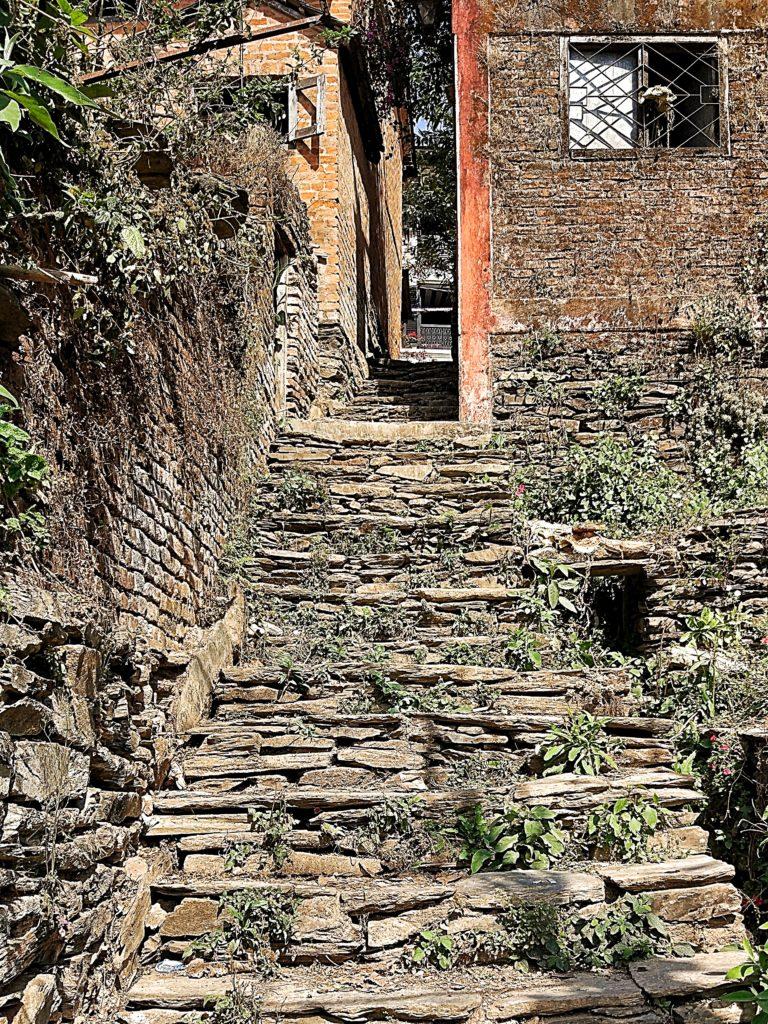 Random street of Bandipur