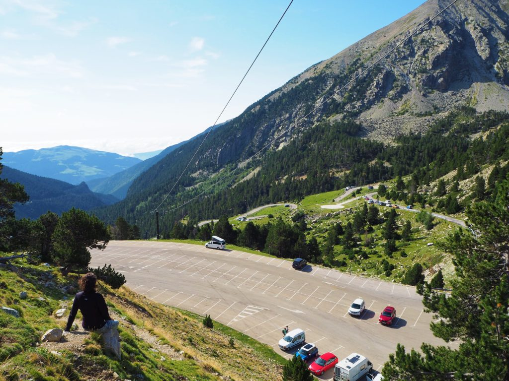 Road to Vallter 2000
