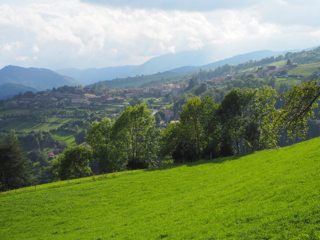 Views from the road to Coll d'Ares