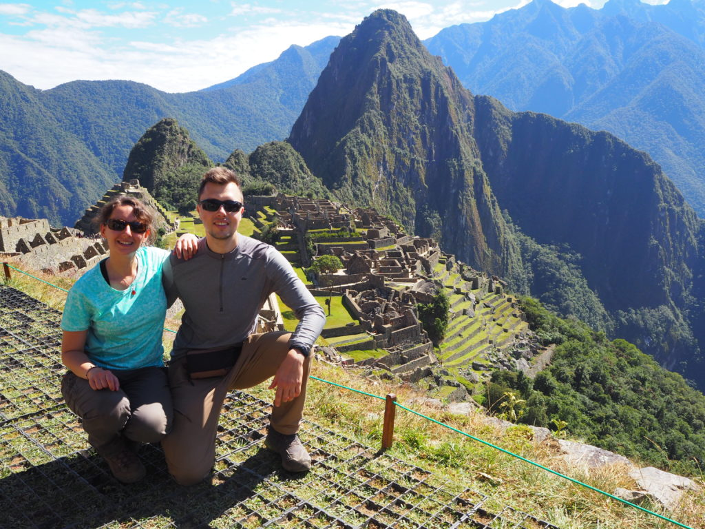 Views at Machu Picchu citadel