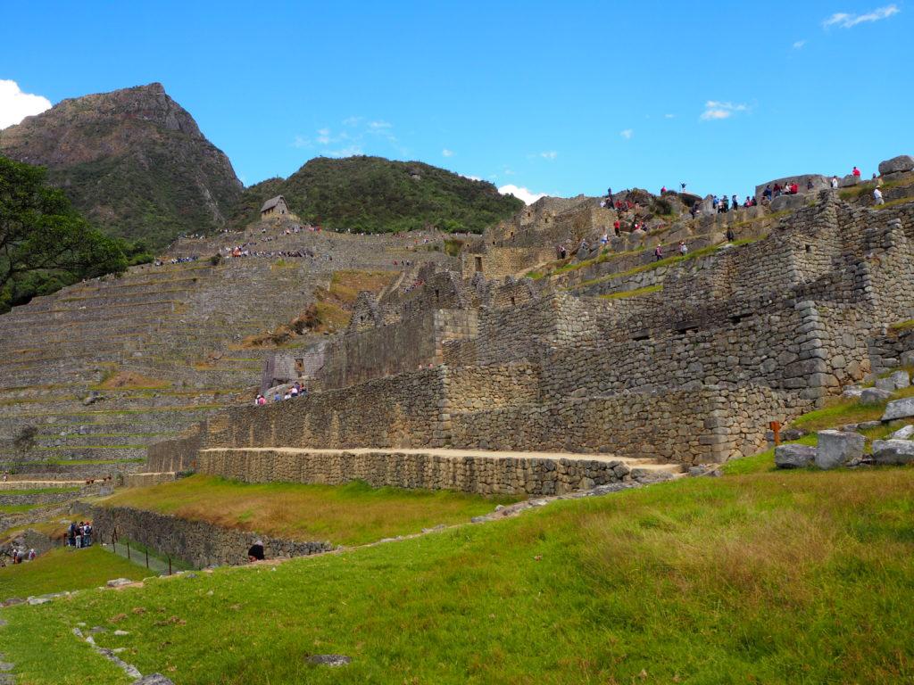 Machu Picchu citadel and Machu Picchu Mountain