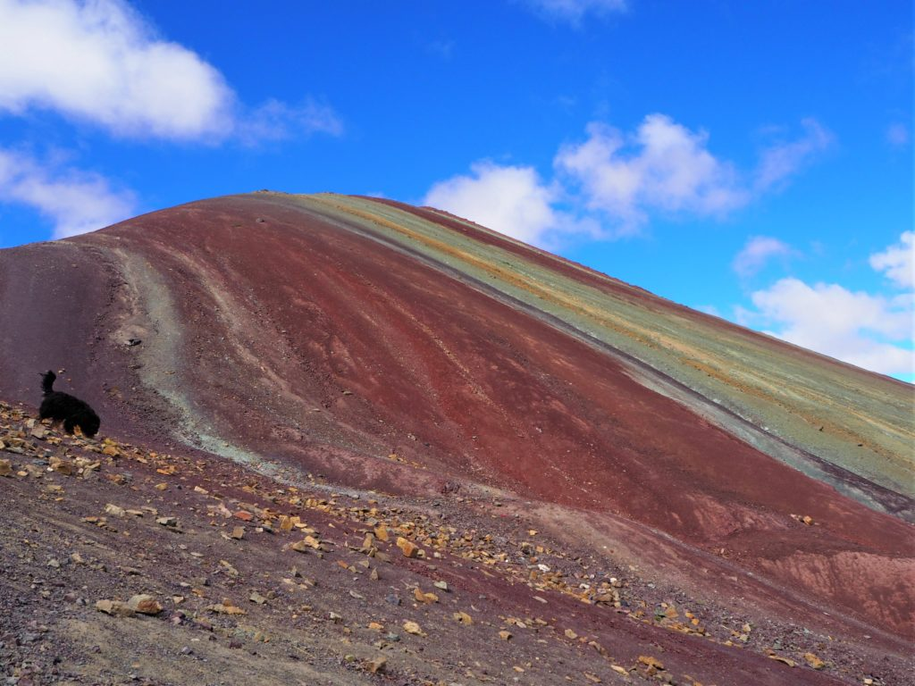 Rainbow Mountain from a less popular angle