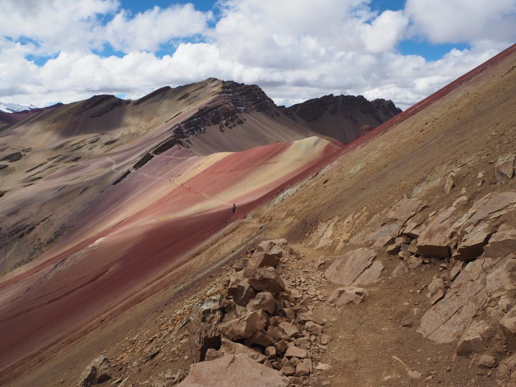 The paths in the Red Valley