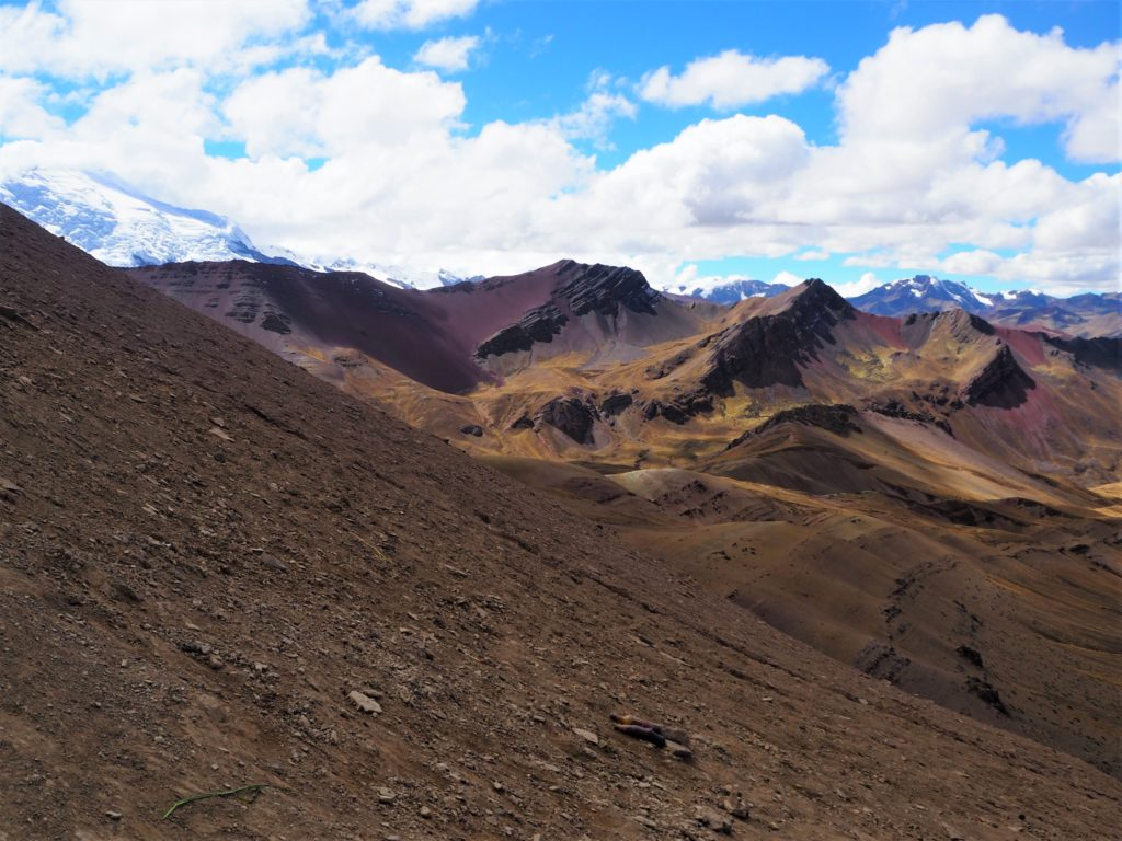 Views over the Andes
